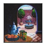 Mint tea Morocco Canvas Prints
