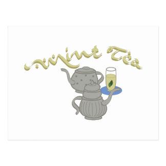 Mint Tea Postcard