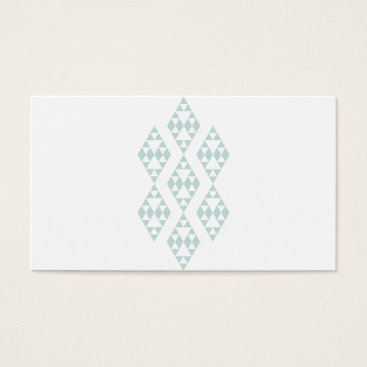 Professional Business Mint Tribal Business Card