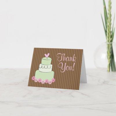 thanks cake