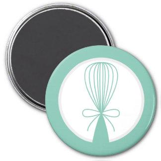 Mint Whisk Silhouette Magnet