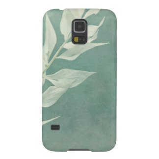 Mint & White Carcasas De Galaxy S5