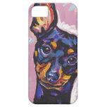 Mintaure Pinscher Pop Art iPhone Case iPhone 5 Cases
