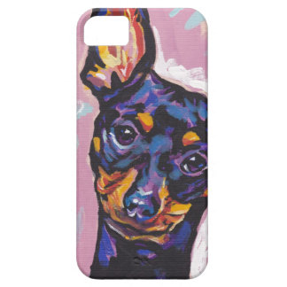 Mintaure Pinscher Pop Art iPhone Case