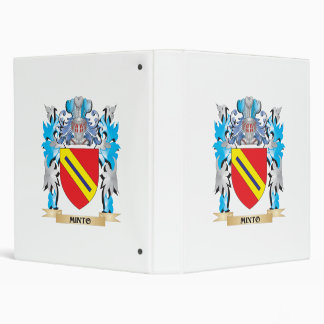 Minto Coat of Arms - Family Crest 3 Ring Binders