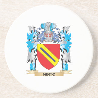 Minto Coat of Arms - Family Crest Coaster