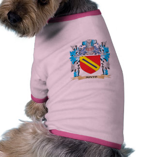 Minto Coat of Arms - Family Crest Pet Tee