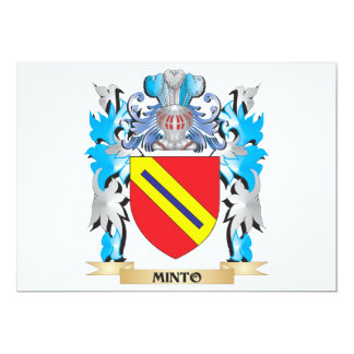 Minto Coat of Arms - Family Crest Announcements