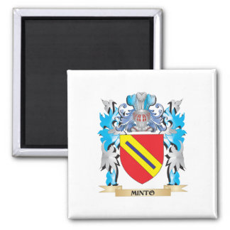 Minto Coat of Arms - Family Crest Magnets