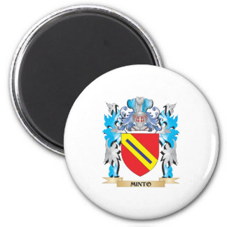 Minto Coat of Arms - Family Crest Fridge Magnets