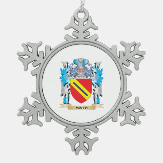 Minto Coat of Arms - Family Crest Ornaments