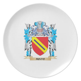 Minto Coat of Arms - Family Crest Dinner Plate