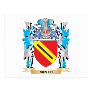 Minto Coat of Arms - Family Crest Post Cards