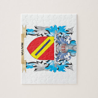 Minto Coat of Arms - Family Crest Puzzle
