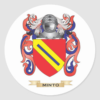Minto Coat of Arms (Family Crest) Stickers