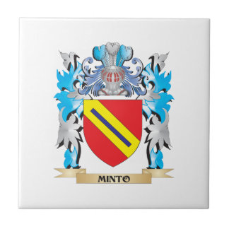 Minto Coat of Arms - Family Crest Tiles