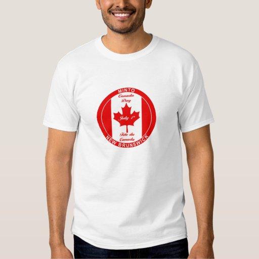 MINTO NEW BRUNSWICK CANADA DAY TSHIRT