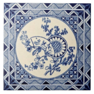 Minton Hollins Aesthetic Anglo-Japonese Repro Tile