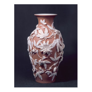 Minton Parian Ware vase, 1894 Postcard