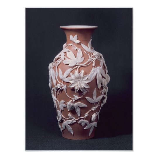 Minton Parian Ware vase, 1894 Poster