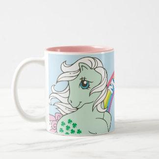 Minty 1 Two-Tone coffee mug
