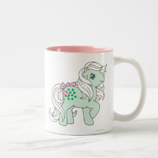 Minty 2 Two-Tone coffee mug