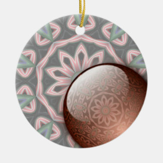 Minty Abstract Ornament