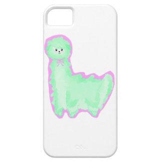 Minty Alpaca iPhone 5 Cases
