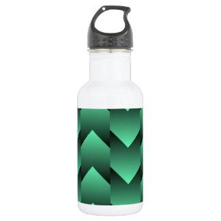Minty Black Water Bottle
