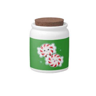 Minty Candy Jar