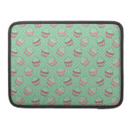 Minty Cupcake Pattern Sleeve For MacBook Pro