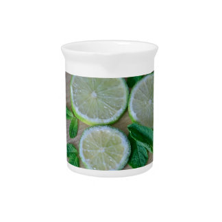 Minty Limes Beverage Pitcher