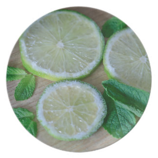 Minty Limes Plate