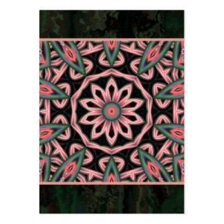 Minty Mandala Artwork Artist Trading Card - ACEO Business Card Template