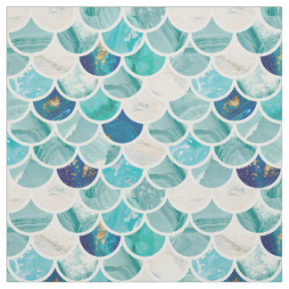 Fish scale pattern fabric zazzle for Fish scale fabric