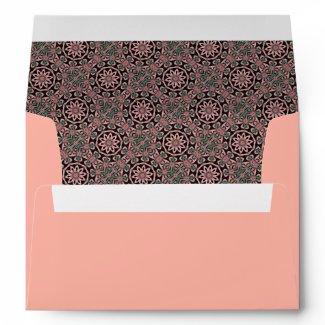 Minty Pattern Envelope envelope