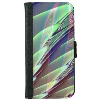 Minty Pleasure Fractal iPhone 6 Wallet Case