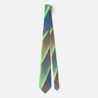 Minty Pleasure Fractal Neck Tie