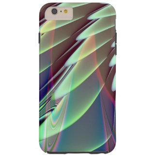 Minty Pleasure Fractal Tough iPhone 6 Plus Case