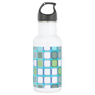 Minty tiles water bottle