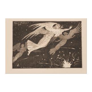 """Minué contemporáneo Chistian"" 1915 - WW1 Impresión De Lienzo"