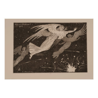 """Minué contemporáneo Chistian"" 1915 - WW1 Póster"