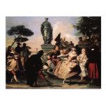 Minué de Juan Domingo Tiepolo- Tarjetas Postales