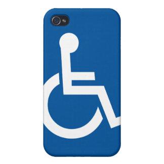 minusválidos perjudicados iPhone 4/4S carcasas
