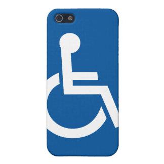 minusválidos perjudicados iPhone 5 fundas