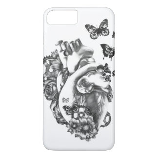 Minute by Minute Anatomical Heart iPhone 8 Plus/7 Plus Case