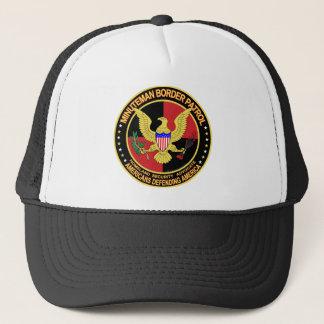 Minuteman Border Patrol  (v157-9) Trucker Hat