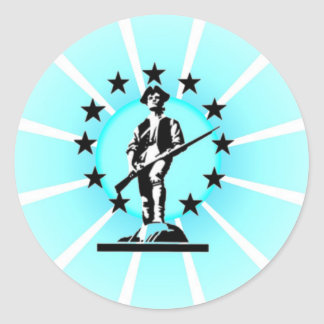 Minuteman Classic Round Sticker