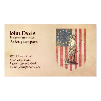 Minuteman Double-Sided Standard Business Cards (Pack Of 100)