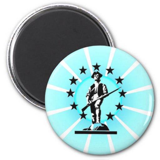 Minuteman Fridge Magnets